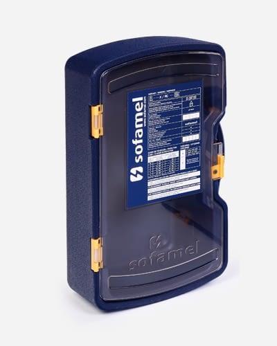 Cofre polietileno resistente a los impactos y a los rayos UV