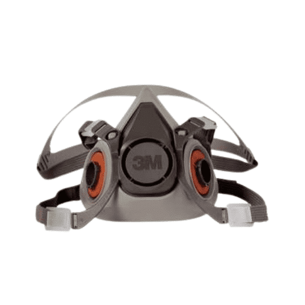 Máscara Respirador 3M™ 6200 de Media Pieza Facial Serie 6000