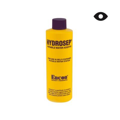 Preservativo para estación de limpieza de ojos con agua potable Encon Hydrosep®