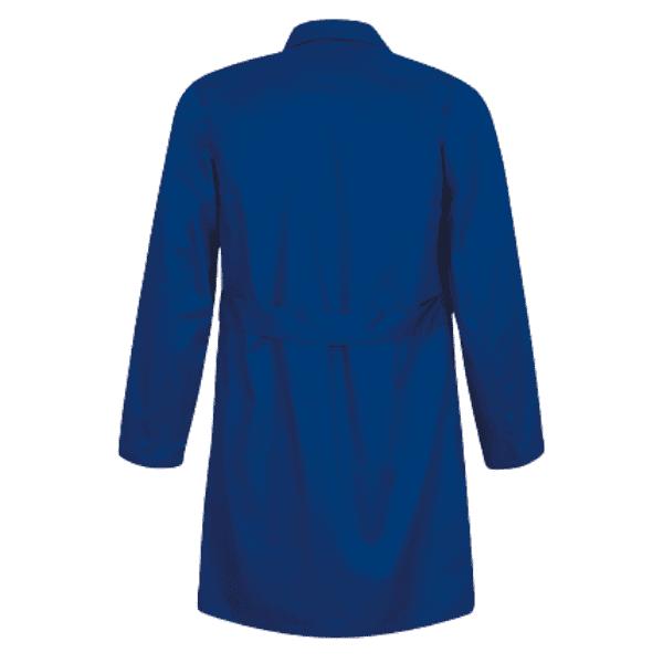 Bata de Trabajo Larga Unisex Azul Azulina para sanidad, peluquería, enseñanza o industrias