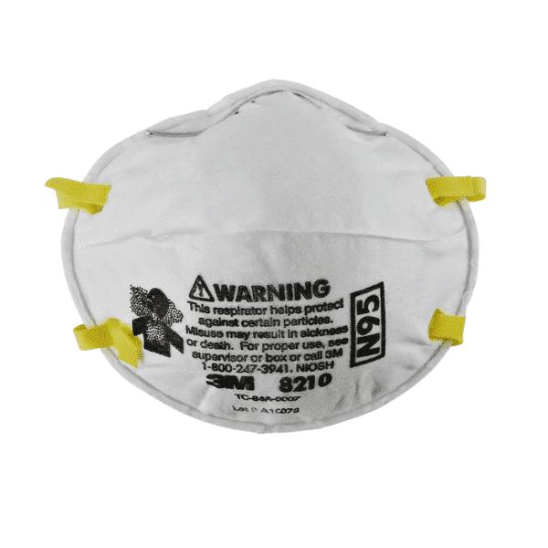 Mascarilla Respirador 3M 8210 para partículas N95