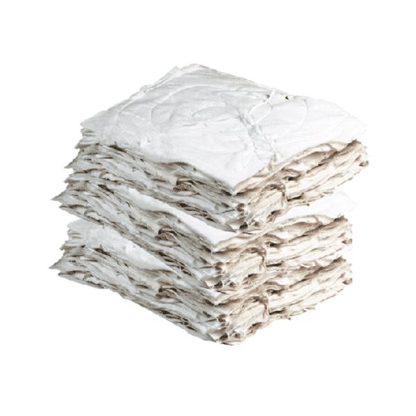 Trapo Carpeta Industrial Cosido Blanco