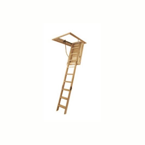 Escalera para atico o altillo en madera
