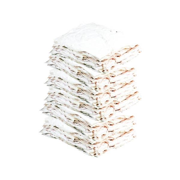 Bulto Trapo Industrial Carpeta Cosido Blanco